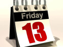Friday 13th, unlucky? Or a good day to go down the pub?