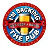 I'm Backing the Pub - campaign launched