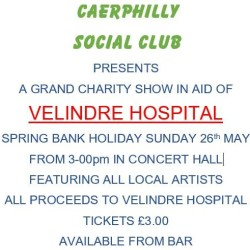 VELINDRE CHARITY EVENT