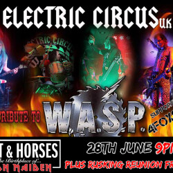 Electric Circus UK, 4foxSake, Ruskin R