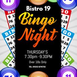 Weekly bingo session