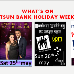WHITSUN BANK HOLIDAY WEEKEND