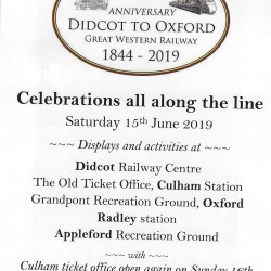 175th Anniversary GWR