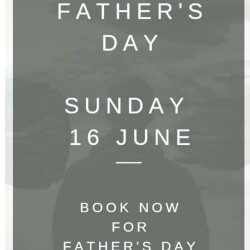 Father's Day Sunday lunch