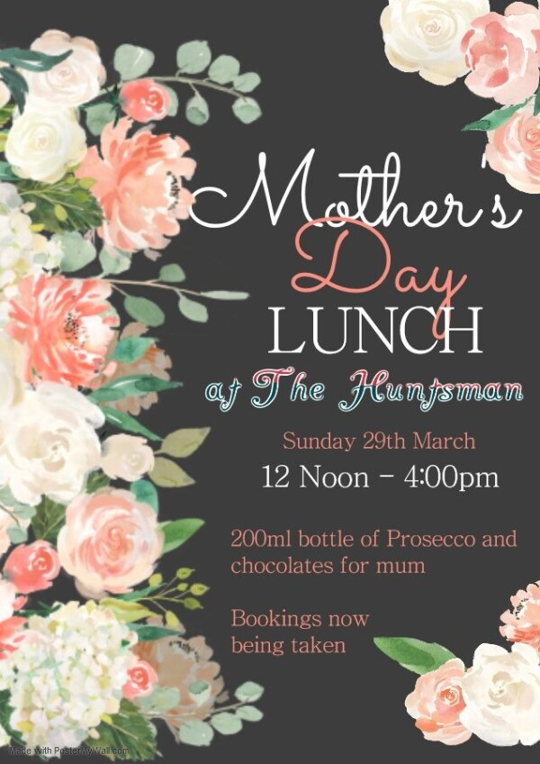 Mothers Days Lunch