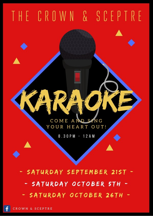 Karaoke @ the Crown