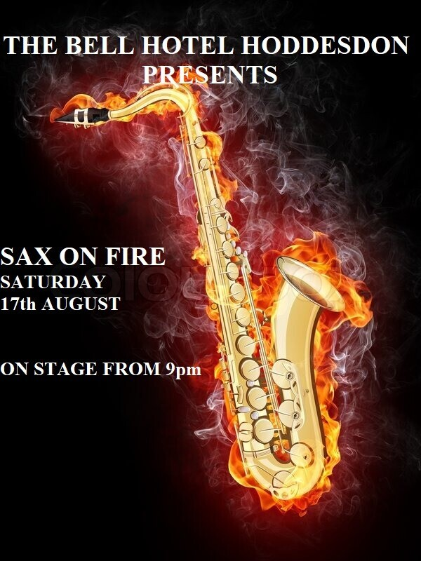 Sax on Fire