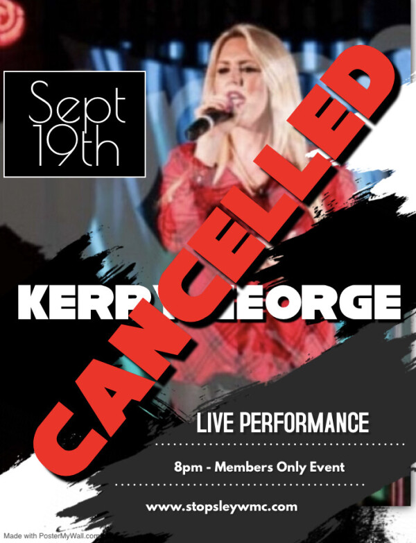 Cancelled - Kerry George