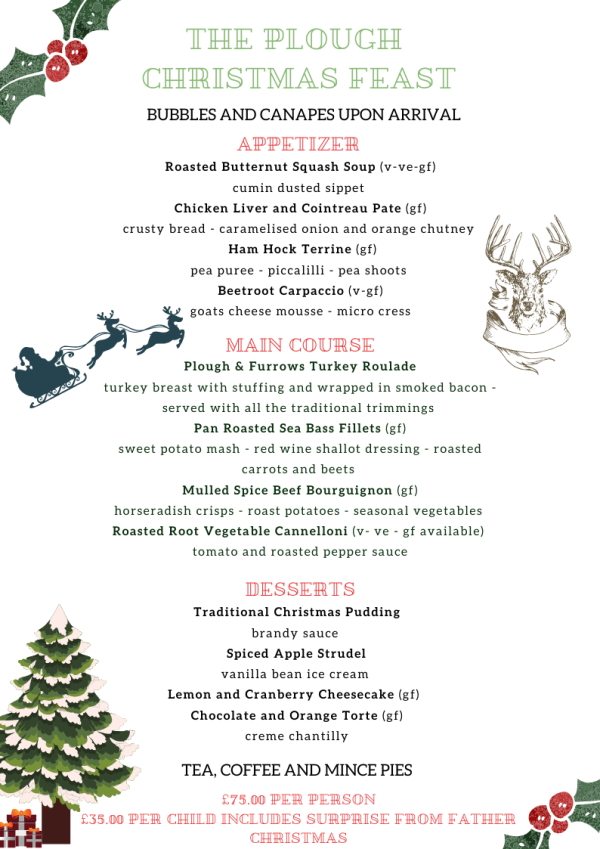 Christmas Feast at The Plough