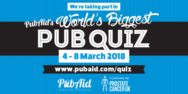 World's Biggest Pub Quiz 2018