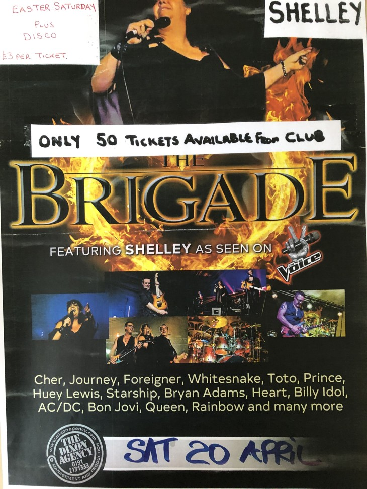 BRIGADE with SHELLY