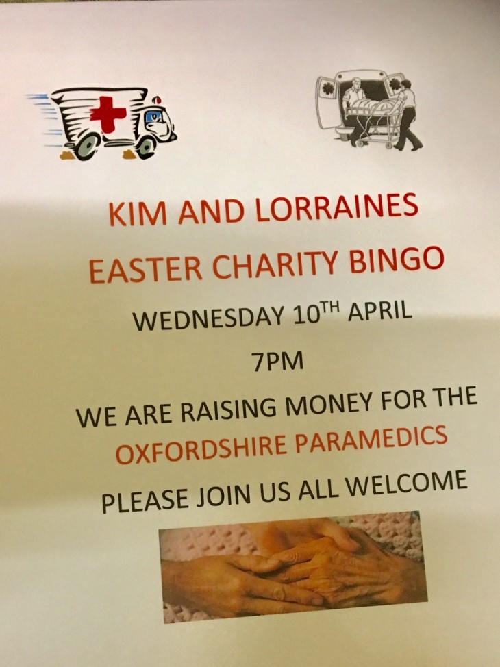 Kim & Lorraine's Charity Easter Bingo