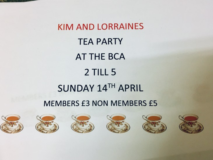 Kim & Lorraine's Tea Party