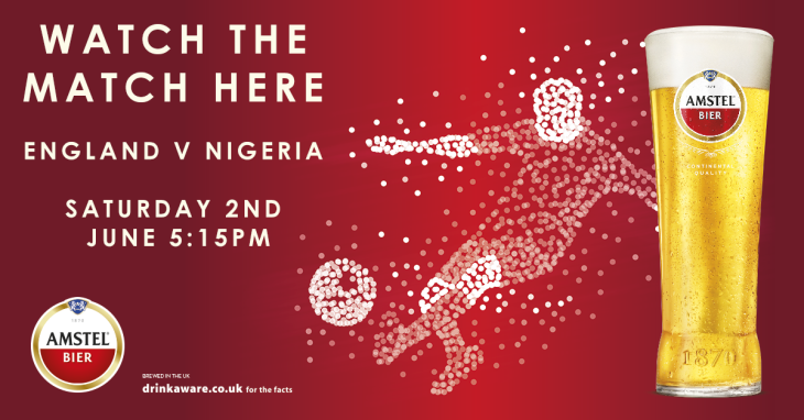 England v Nigeria. Saturday, 5:15pm