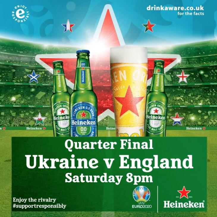 Ukraine v England, UEFA EURO 2020™