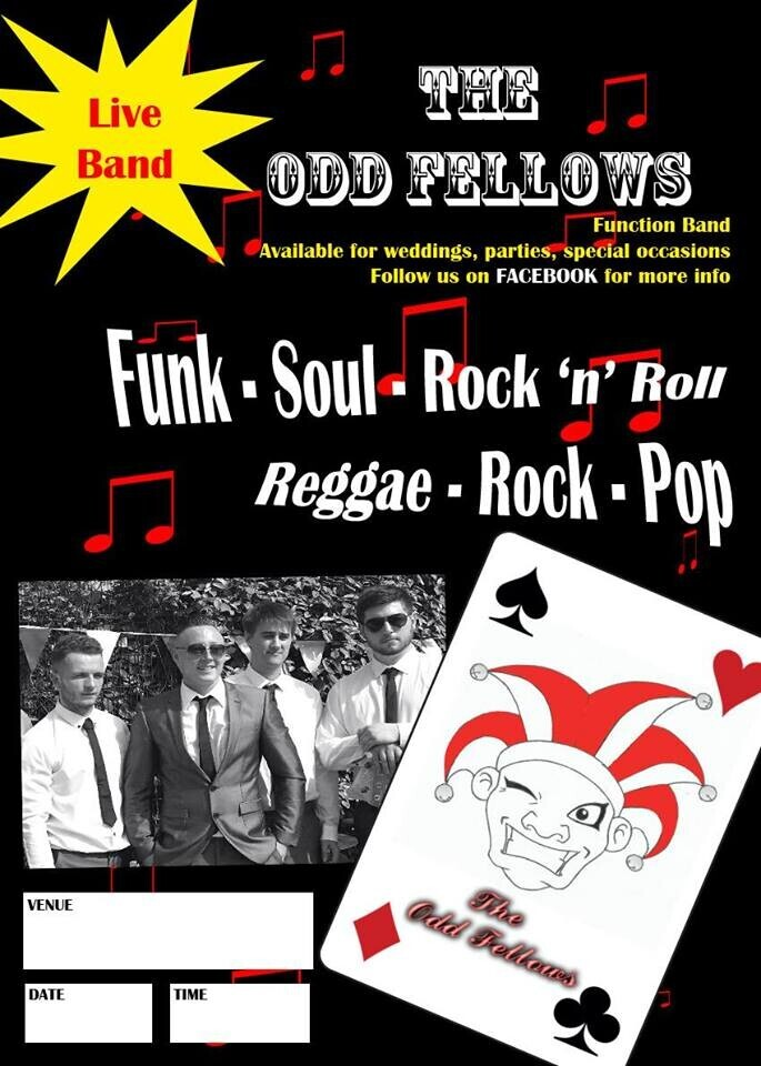 CELEBRATION NIGHT with THE ODD FELLOWS