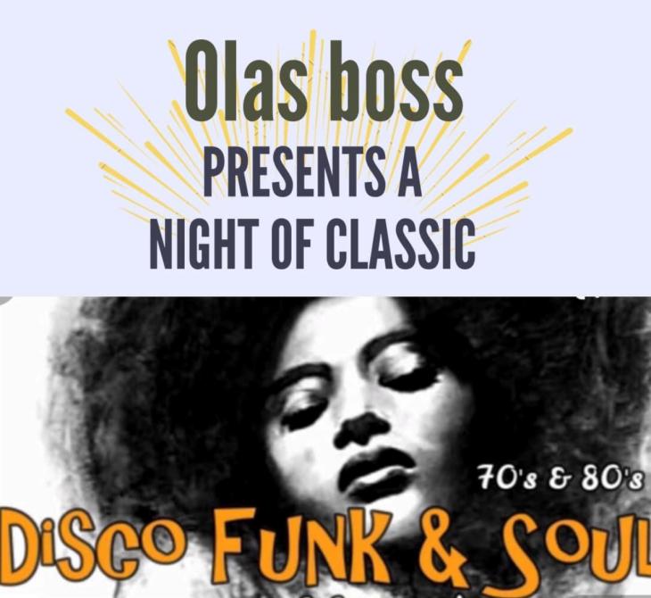 Funk, Soul & Club Classics with OLAS