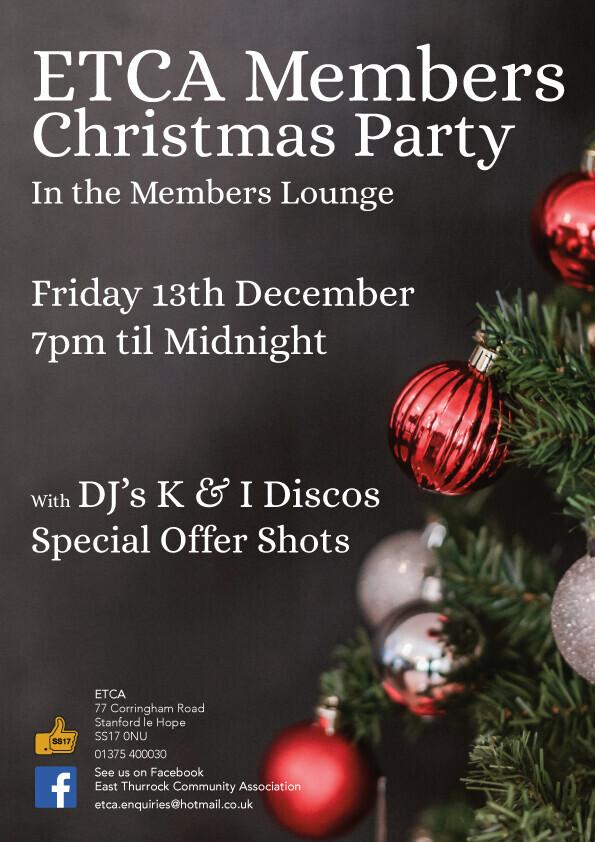 ETCA Christmas Party