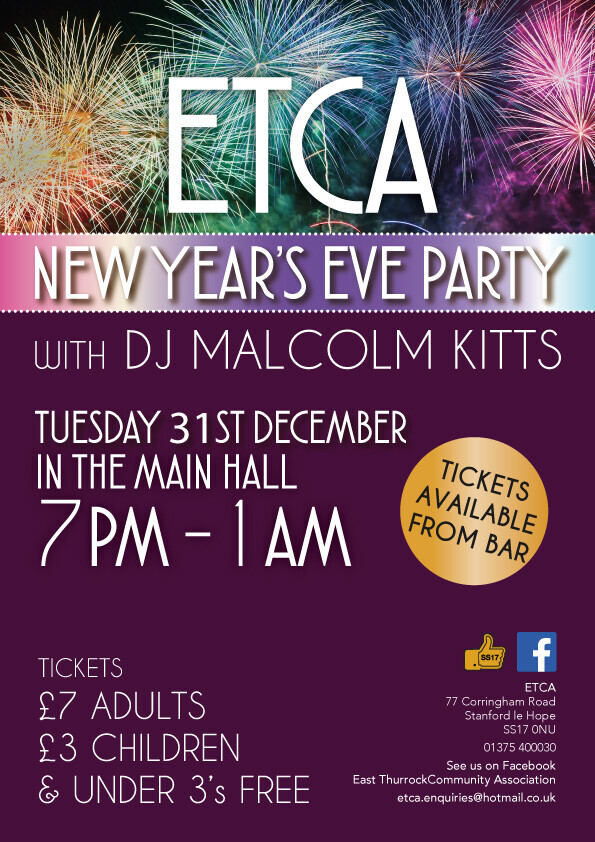 ETCA New Year's Eve Party