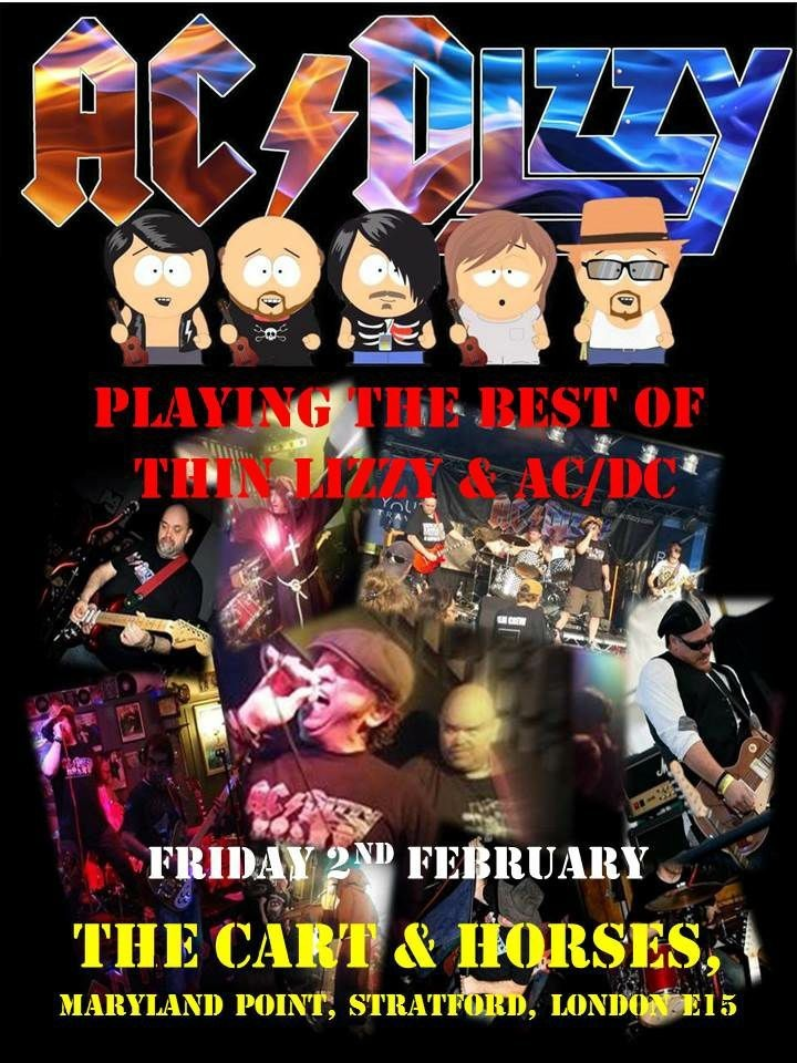 AC/Dizzy Live band from 8:30pm