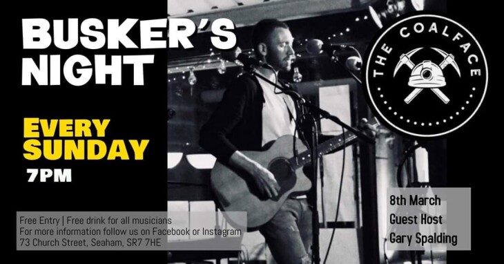 Sunday Busker's at The Coalface