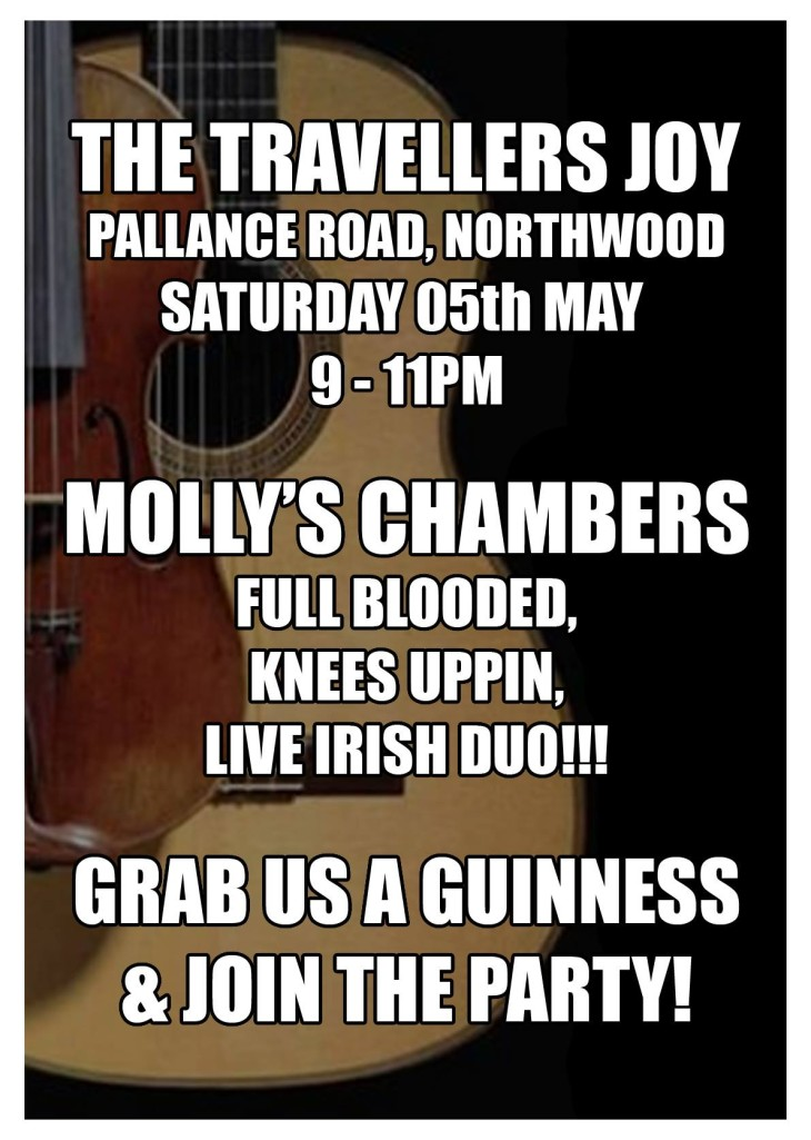 Live Music With Molly's Chambers!