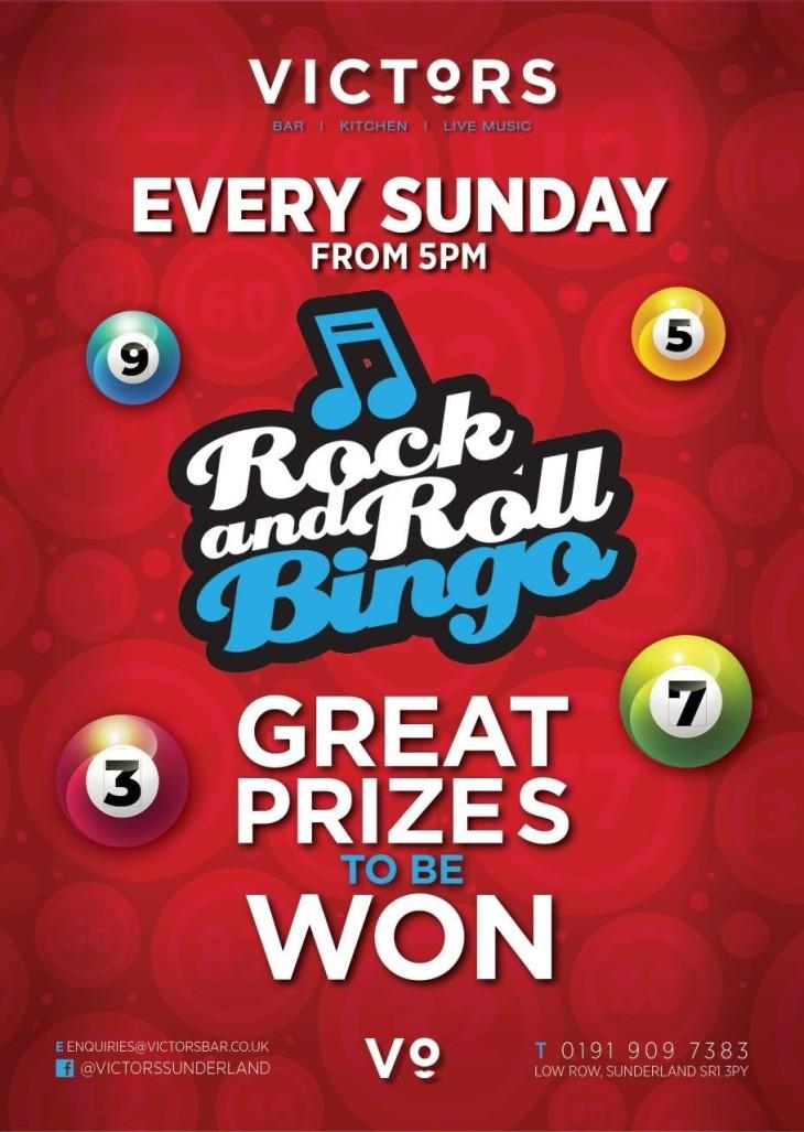 Bingo every Sunday
