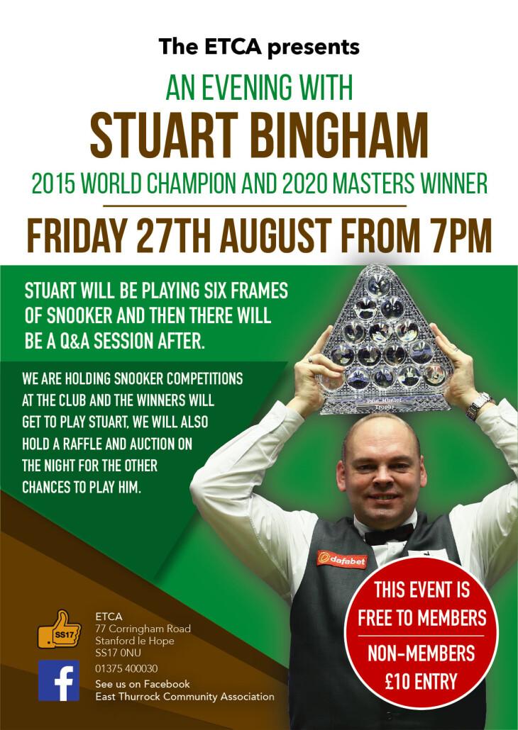 An Evening with Stuart Bingham