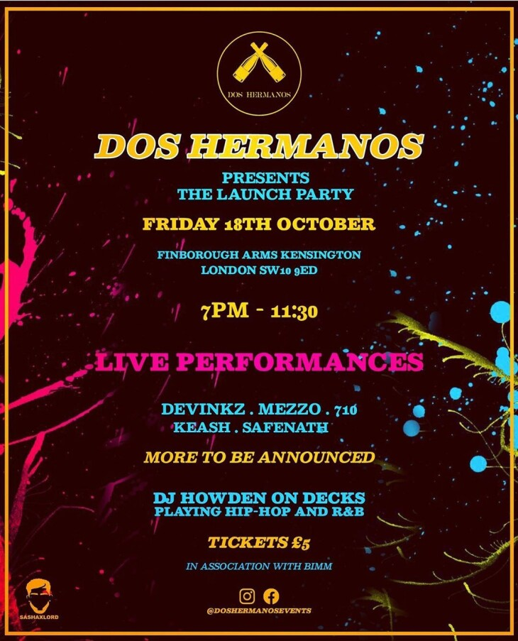 Dos Hermanos Launch Party