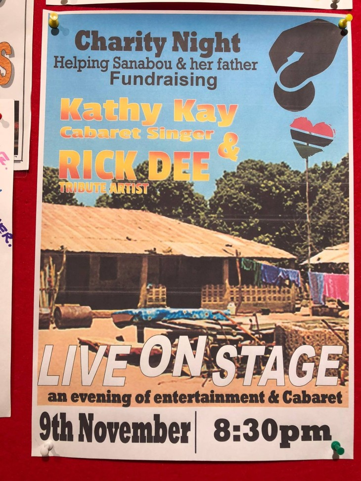 Gambia Charity Night