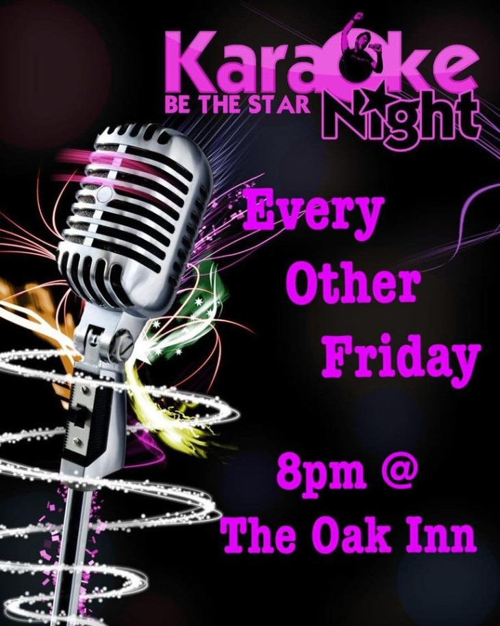 Karaoke at The Oak Inn