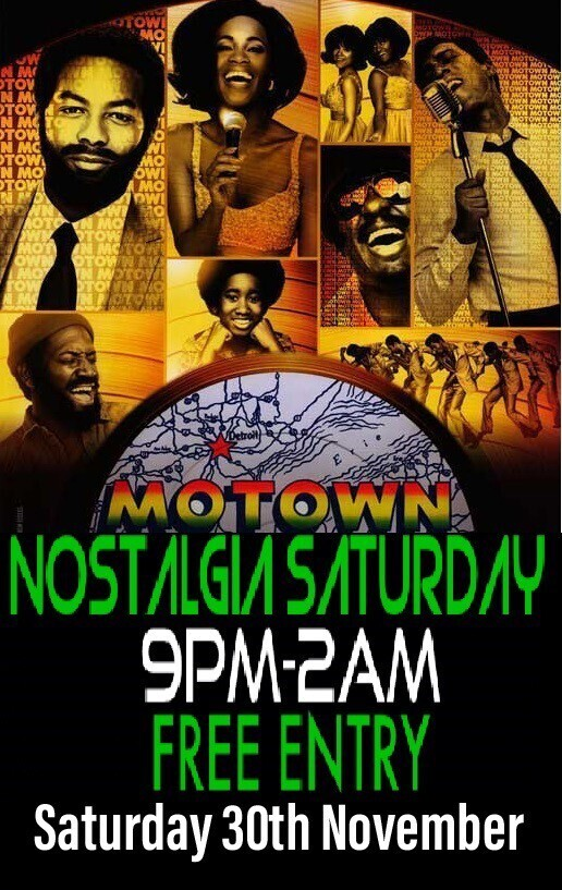 Motown Night with DJ Steve O Disco