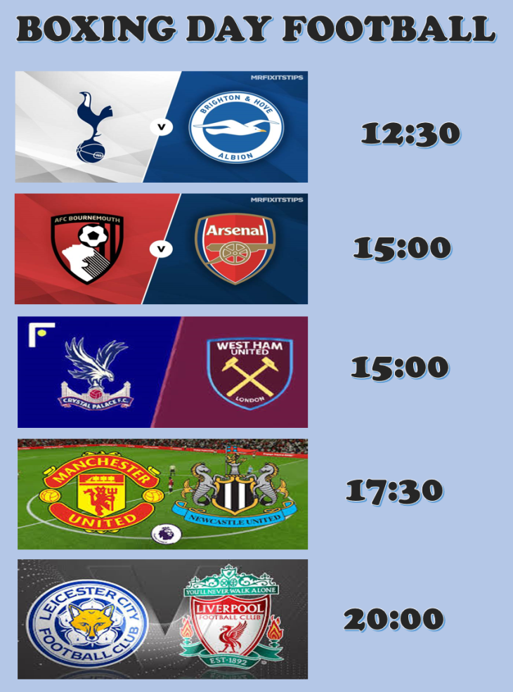 BOXING DAY FOOTBALL FEST