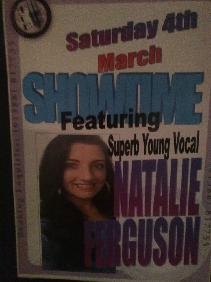 Superb Young Vocal - Natalie Ferguson