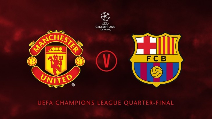 Champions League Man Utd vs Barcelona