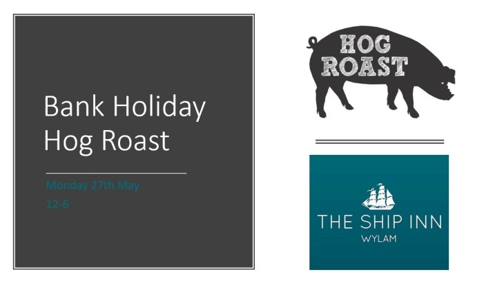 Bank Holiday Hog Roast