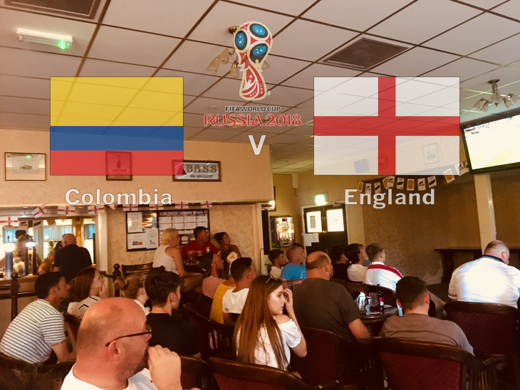 Colombia v England - World Cup 2018