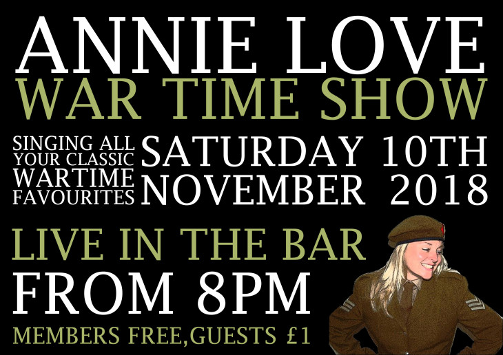 Annie Love - War Time Show