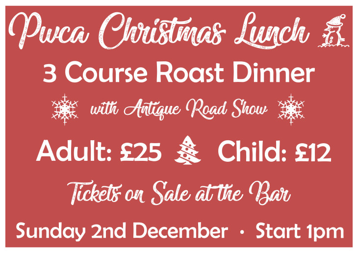 PWCA Christmas Lunch