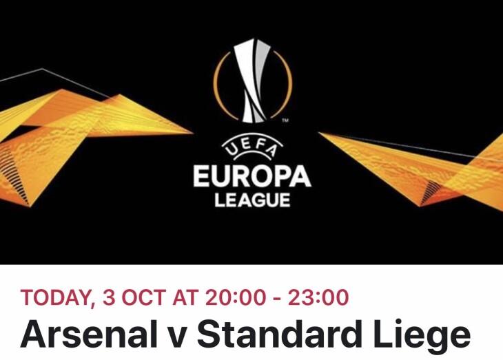 Arsenal v standard liege