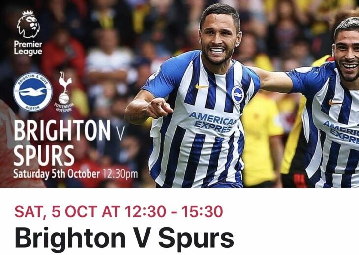 Brighton v Spurs