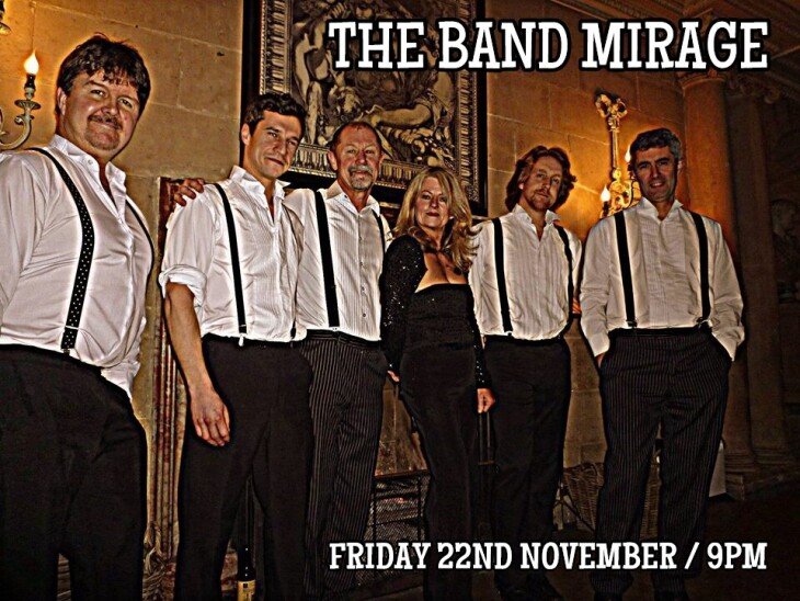 The Band Mirage and Dj Tony Walker