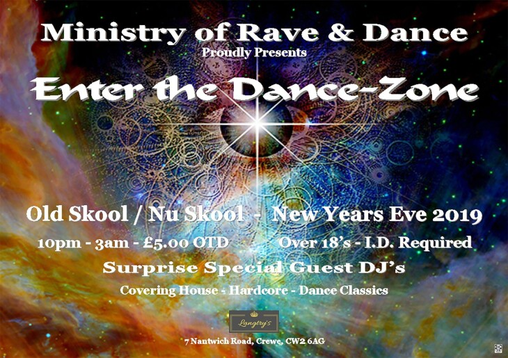 NYE Party - Enter The Dance Zone 2020