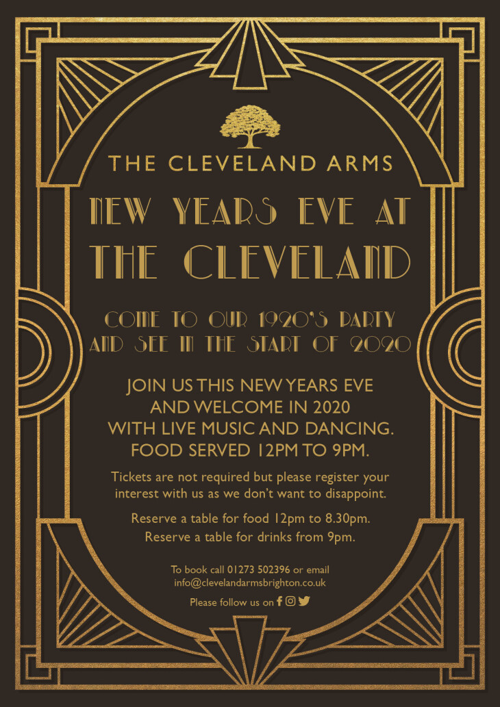 New Years Eve live music and dancing!!
