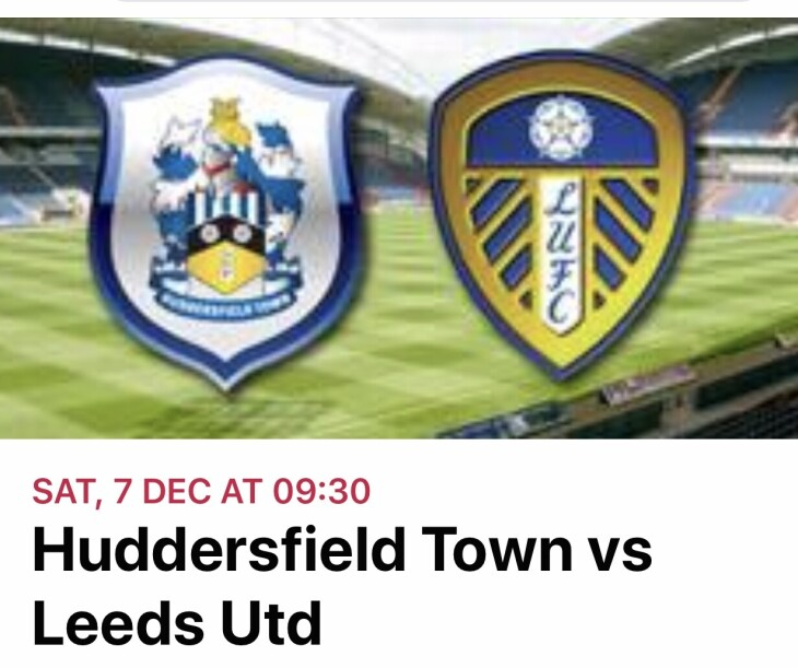 Huddersfield town v Leeds