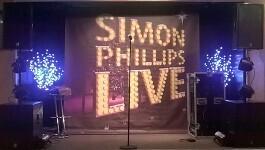 Simon Phillips - solo singer