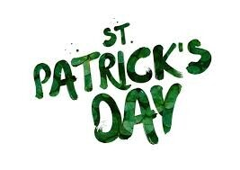 St Paddy's Day 17th March