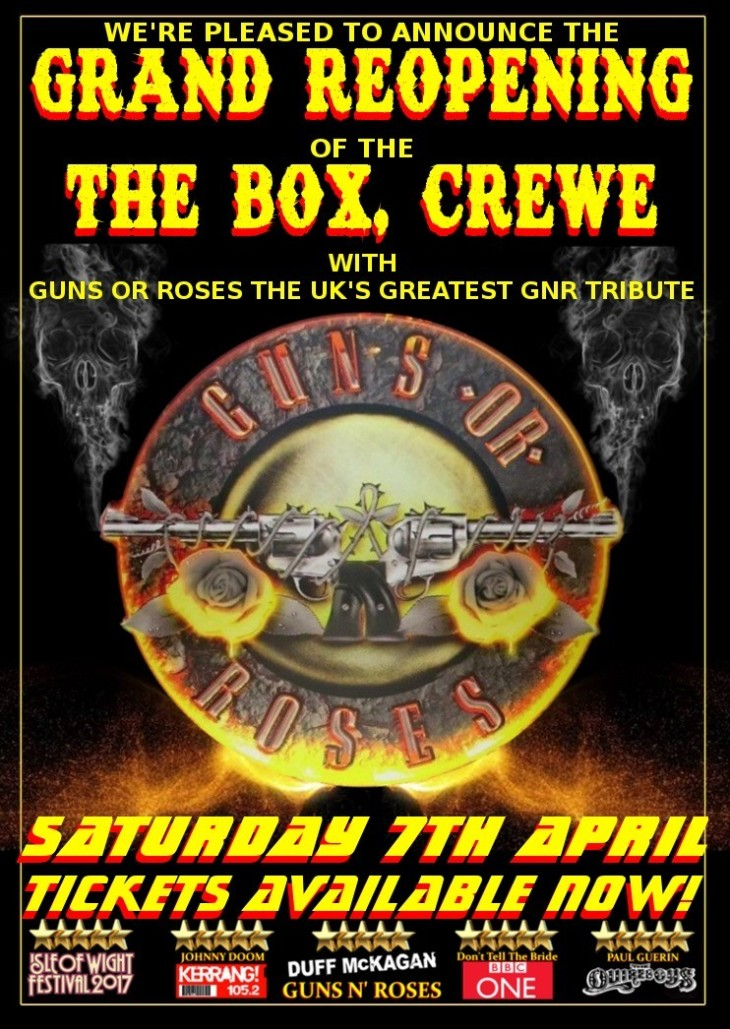 Guns Or Roses Tickets & Rooms To Stay