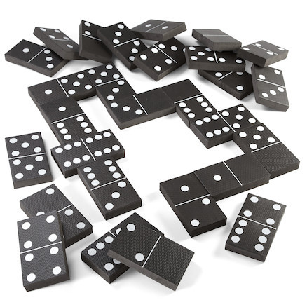 Dominoes doubles knockout