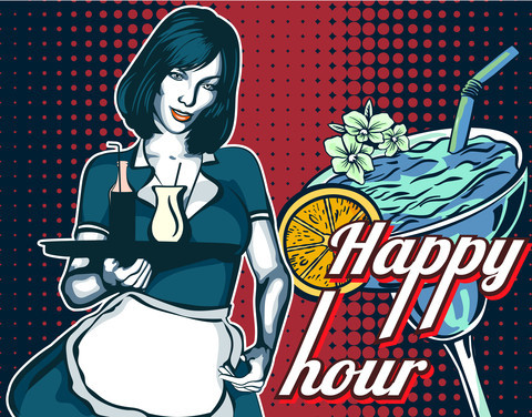 4:30 - 6:00 pm Happy Hour and a Half!